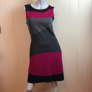 3/$27 Taylor Multicolored Wiggle Dress